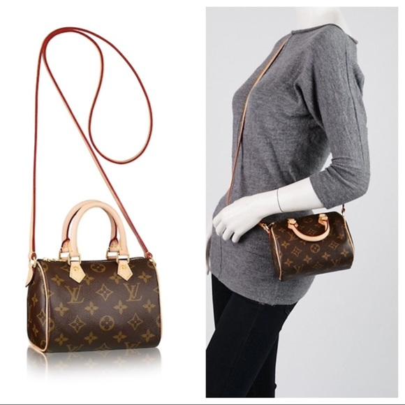 afa33dcdcc3 Louis Vuitton Handbags - Louis Vuitton Nano Speedy Handbag Monogram